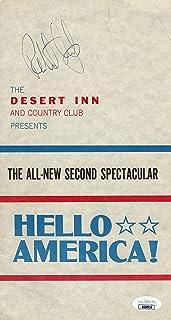 Robert Culp Signed Autographed Program Hello America! Desert Inn JSA GG68916