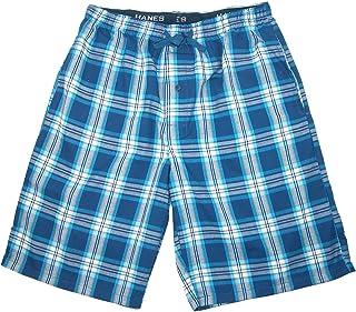 Hanes Men's Big and Tall Madras Sleep Pyjama Shorts