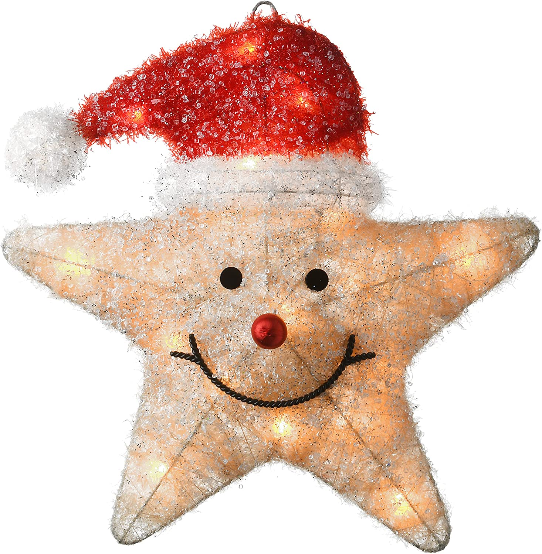 National Tree Award-winning store 5 ☆ very popular Company MZST-18AL-B Christmas Star 16 in Yellow