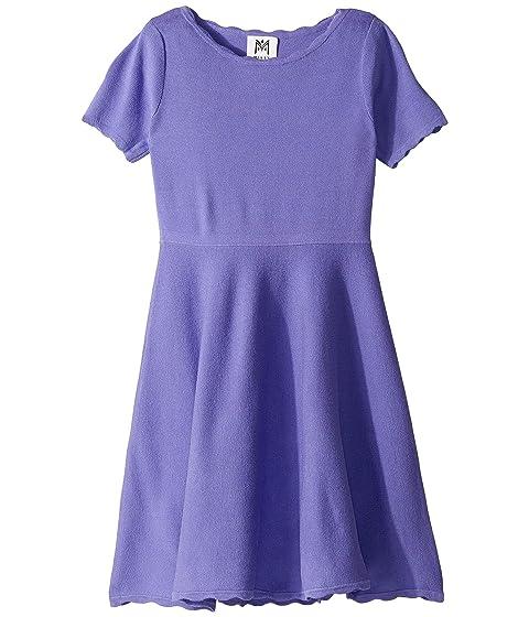 Milly Minis Scallop Flare Dress (Big Kids)