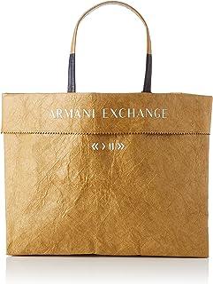 Armani Exchange Womens Paper Shopping Bag M, 00014, EInheitsgröße