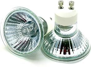 Set van 10 GU10 halogeenlampen 230 V 35 W warm wit dimbaar stralingshoek: ca. 45 ° smeltbeveiliging en uv-bescherming