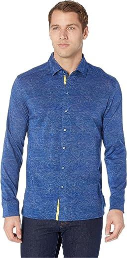 Agoda Long Sleeve Knit Shirt