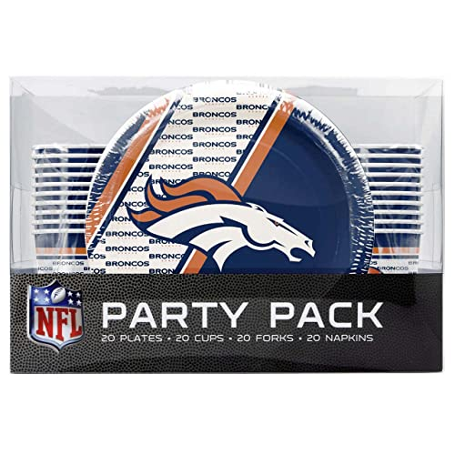 cheap denver broncos party supplies
