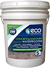Eco Advance EACON640PD 5 Gallon Concrete/Masonry Siloxane Waterproofer - Ready to Use