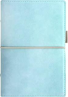 Filofax 2018 Domino Soft Organizer, Personal (6.75 x 3.75), Soft Pale Blue, Planner with to do and Contacts Refills, Indexes and notepaper (C022578-18)