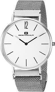ساعة اوشينت للرجال مع سوار من الستانليس ستيل، فضي، 20 كاجوال (OC0100)