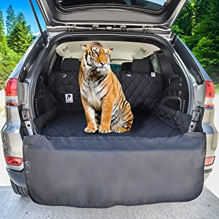 Dog Cargo Liner for SUV, Van, Truck & Jeep – Waterproof, Machine Washable,..