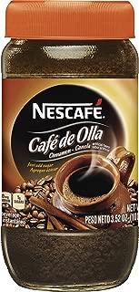 Nescafe Café De Olla Instant Coffee, Cinnamon, 3.5 Ounce