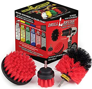 Best Drill Power Heavy Duty Stiff Bristle Scrub Brush Cleaning Kit – Concrete and Siding Cleaner Drill Brushes – Hard Water Stain Remover Brush for Drill by Drill Brush Power Scrubber by Useful Products Reviews