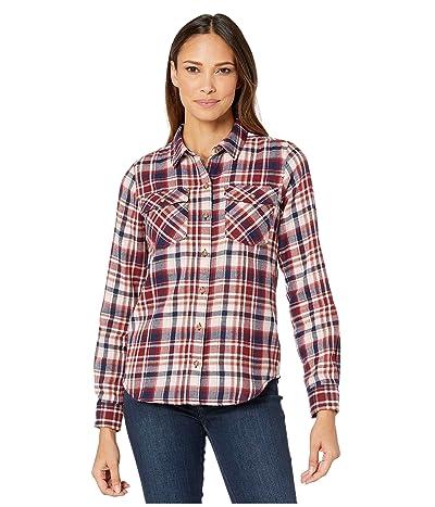 Marmot Bridget Midweight Flannel Long Sleeve Shirt (Claret) Women