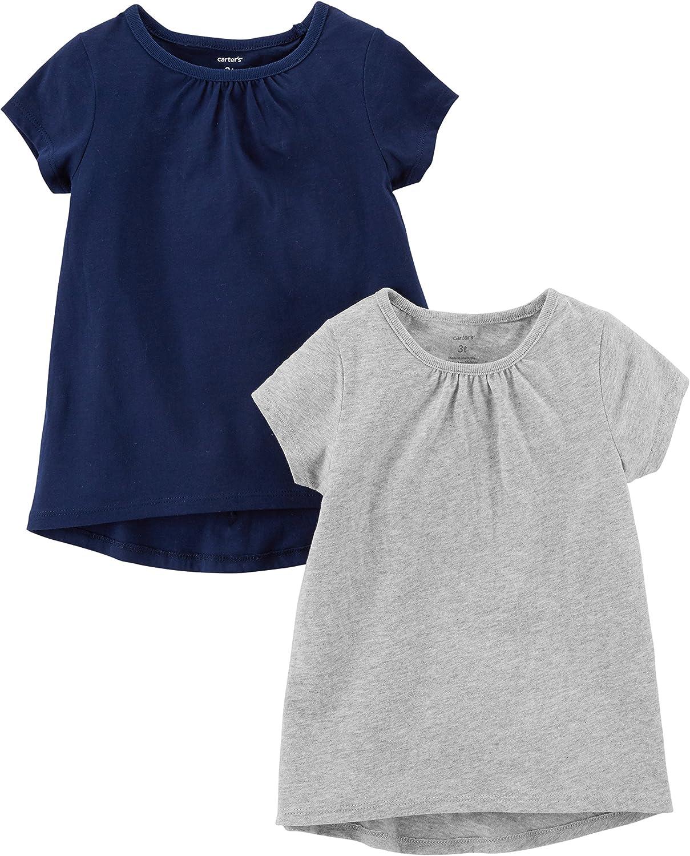 Carter's Baby Girls' 2-Pack Tees