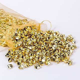 AiFanS Golden Nuggets for Table Scatter Decoration or Vase Filler(Metallic Gold,1.4cm,Pack of 755 Piece)