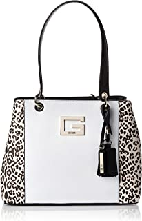 Guess Womens Handbag, Leopard Multi - LD669136