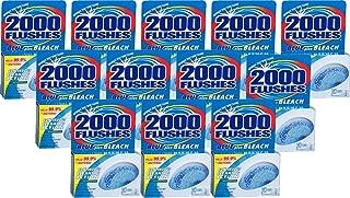2000FlushesBluePlusBleach Automatic Toilet Bowl Cleaner, 3.5 OZ [12-Pack]