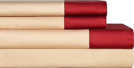 Pointehaven 4-Piece Coronado Sheet Set, Queen