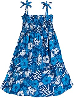 Mickey Mouse and Friends Aloha Dress for Girls Hawaii Multi
