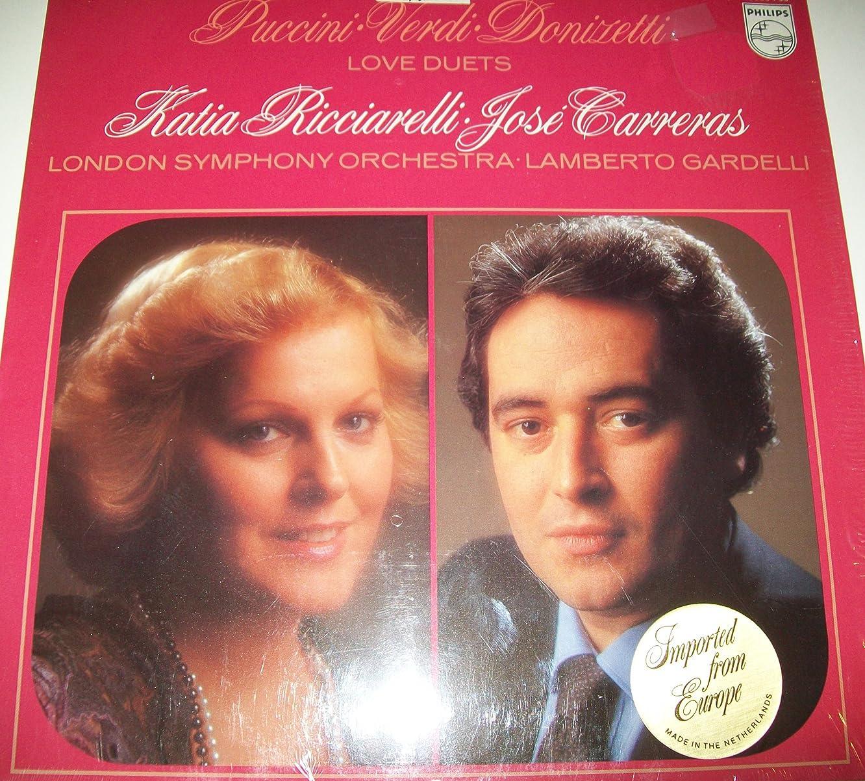 Love Duets - Puccini - Verdi - Donizetti: Katia Ricciarelli / Jose Carreras / London Symphony Orchestra / Lamberto Gardelli
