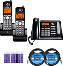 $164 » Motorola ML25254 Expandable Corded 2-Line Business Phone with Digital Answering System Bundle with 2-Pack of ML25055 DECT ...