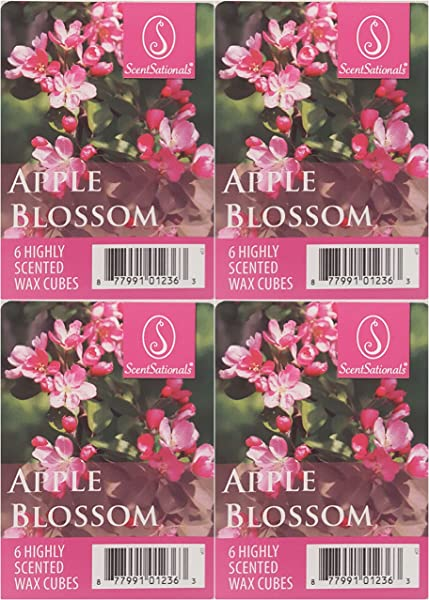 ScentSationals Apple Blossom Wax Cubes 4 Pack