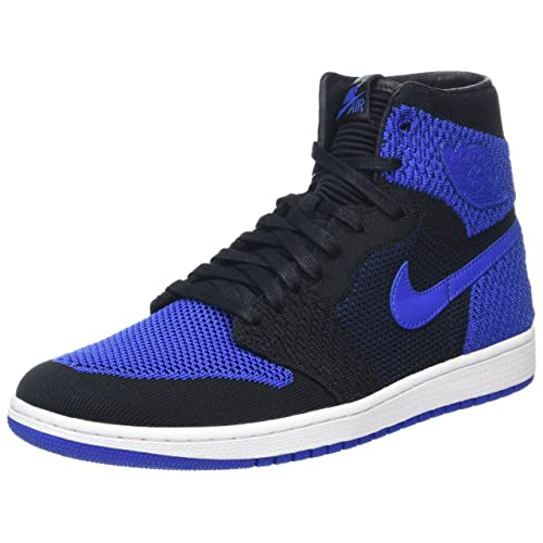 fc86a1b7f92ac Jordan Nike Mens Air 1 High Flyknit Basketball Shoes