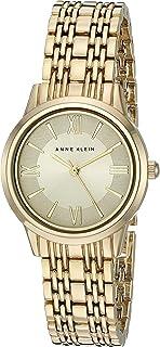 Anne Klein Women's AK/2272CHGB Gold-Tone Bracelet Watch