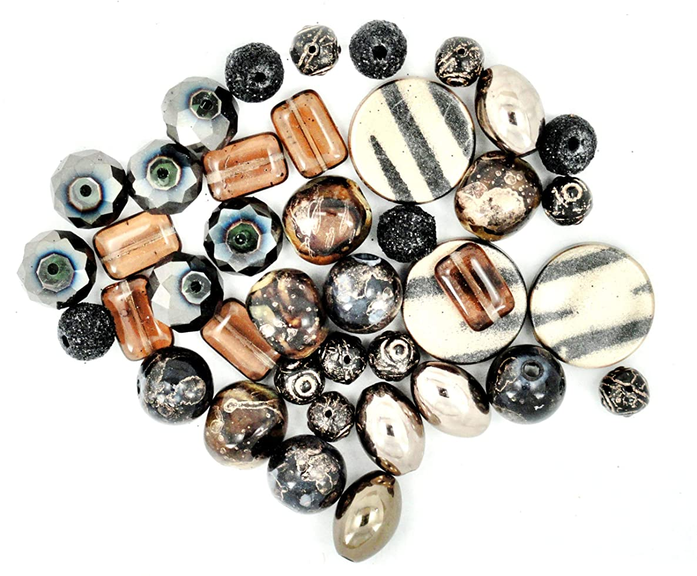 Jesse James Beads 5909 Design Elements Jungle Boogie, Brown