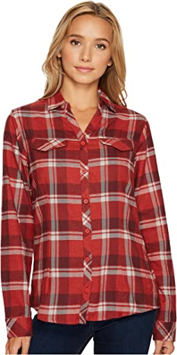 Sail Red Open Ground Plaid