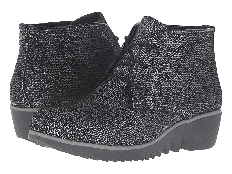Wolky Dusky Winter (Black Malibu Suede) Women
