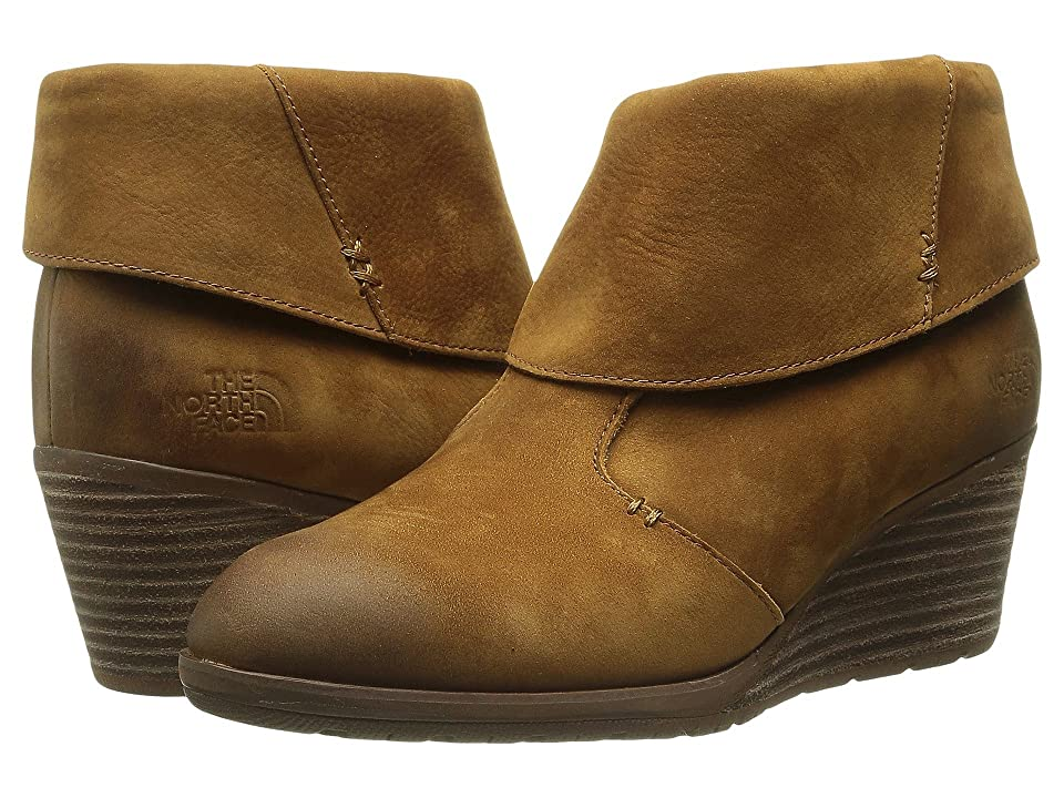 The North Face Bridgeton Wedge Bootie (Sequoia Red/Cappuccino Brown (Prior Season)) Women