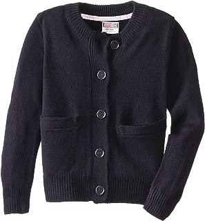 Genuine School Uniform Girls Classic Cardigan Sweater (Sizes 4-16)