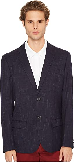 Original Penguin - Two-Button Crosshatch Nep Blazer