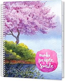 $24 » Tools4Wisdom April 2021-2022 Planner - 8.5x11 Softcover - Dated April 2021 to June 2022 Academic Year Calendar - B&W Daily...