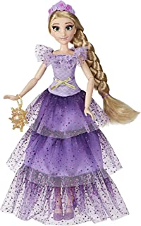 Disney Princess Style Series Rapunzel Fashion Doll, Contemporary Style Dress with Headband, Purse, and Shoes, Toy for Girl...