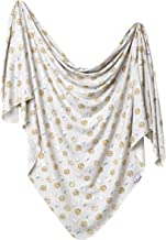 Large Premium Knit Baby Swaddle Receiving Blanket
