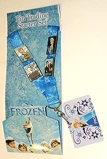 Disney Parks Frozen Pin Trading Starter Set