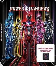 Saban's Power Rangers: Exclusive Steelbook Plus Graphic Novel (Blu-ray + DVD + Digital)