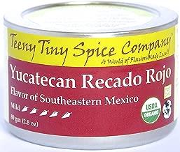 Teeny Tiny Spice Co. of Vermont Organic Yucatecan Recado Rojo