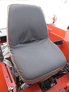 Durafit Seat Covers KU09 Black Twill Kubota Seat Covers for tractor B2320,B2620,B2920,B3200,B7410,B7510,B7610,B7800,BX1850,BX2350,BX24,BX25,M5640,M7040