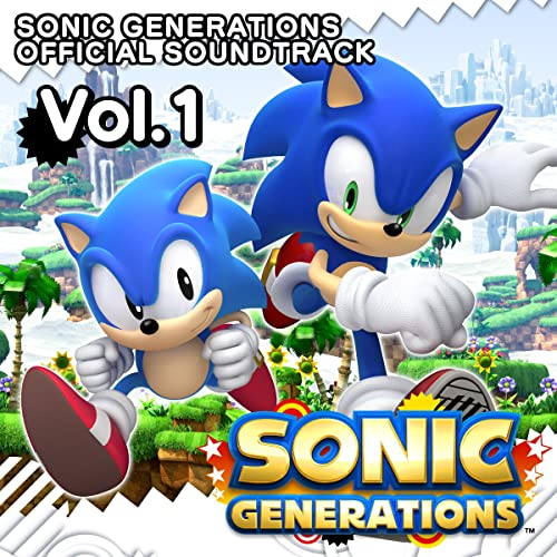 SONIC GENERATIONS OFFICIAL SOUNDTRACK Vol.1