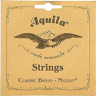 Aquila 新尼龙 AQ-6B Banjo 琴弦 - 中等张力 DBGDG - 1 套 5 个