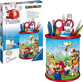 Ravensburger Pennenbak Super Mario - 3D puzzel - 54 stukjes