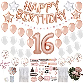 Best sweet 16 birthday decorations Reviews