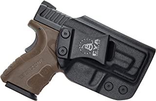 """CYA Supply Co. IWB Holster Fits: Springfield XD MOD.2-3"""" Sub-Compact 9MM / .40S&W - Veteran Owned Company - Made in USA - Inside Waistband Concealed Carry Holster"""
