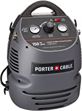 PORTER-CABLE Air Compressor Kit, 1.5 Gallon, Oil-Free, Fully Shrouded, Hand Carry,..