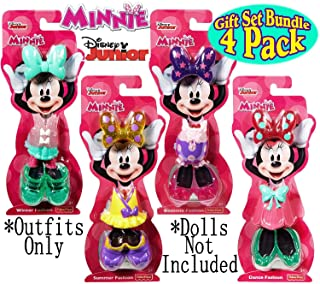 Fisher-Price Disney Junior Minnie Mouse Snap-On Fashions