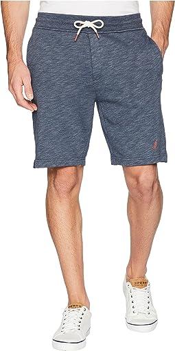 Marled Sweat Shorts