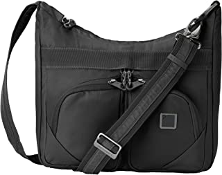 RFID Blocking Anti-theft Satchel Messenger Bag for Women w/ Adjustable Shoulder Strap