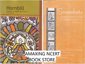 MRP IS 100 PLUS SHIPPING NCERT BOOK Hornbill Textbook in English Snapshots Supplementary Reader in English for Class XI Core Course COMBO PACK by AMAXING NCERT BOOK STORE
