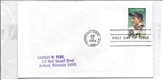 1989 First Day Cover (FDC) Lou Gehrig 25 Cent US Postage Stamp